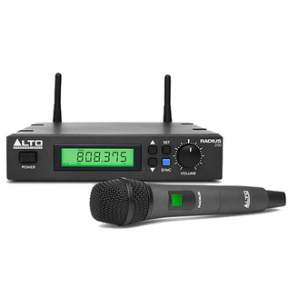 Alto Radius 200 Wireless held dynamic Microphone Transmitter