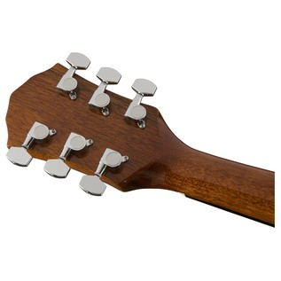 Fender FA-125 Dreadnought, Natural headstock back