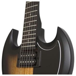 Epiphone SG Special VE Electric Guitar, Vintage Sunburst Neck Joint