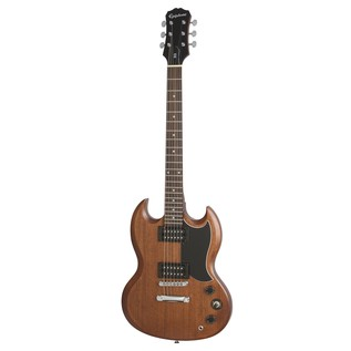 Epiphone SG Special VE Electric Guitar, Vintage Walnut Front View