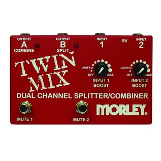 Morley Twin Mix Combo ABY Selector & Mini Mixer