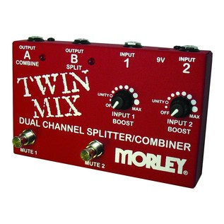 Morley Twin Mix Combo ABY Selector & Mini Mixer Right