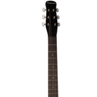 Silvertone 1303/U2 Electric Guitar, Black