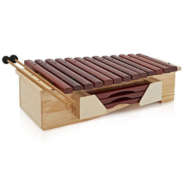 Floor Standing Soprano Xylophone by Gear4music, Diatonic