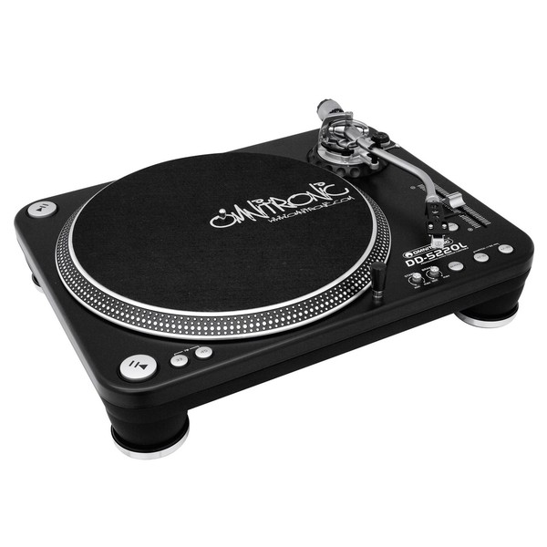Omnitronic DD-5220L Turntable, Black