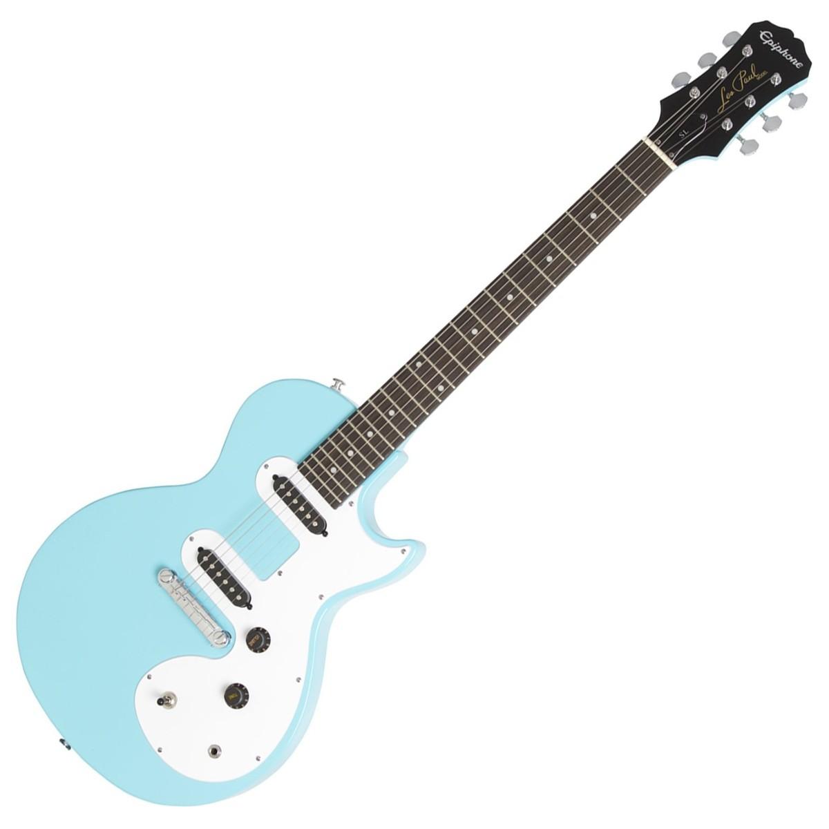 epiphone les paul sl electric guitar pacific blue at. Black Bedroom Furniture Sets. Home Design Ideas