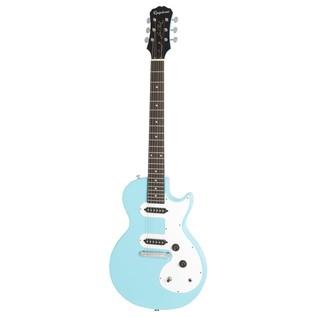 Epiphone Les Paul SL Electric Guitar, Pacific Blue Front View