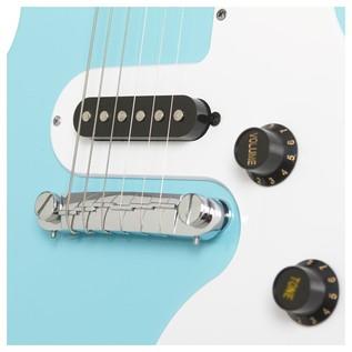 Epiphone Les Paul SL Electric Guitar, Pacific Blue Bridge