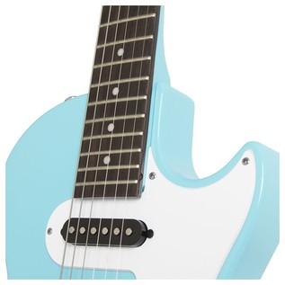 Epiphone Les Paul SL Electric Guitar, Pacific Blue Neck Joint