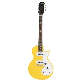 Epiphone Les Paul SL Electric Guitar, Sunset Yellow Front View