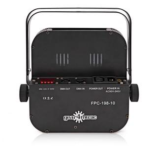 198 X 10mm Flat LED Par Can by Gear4music