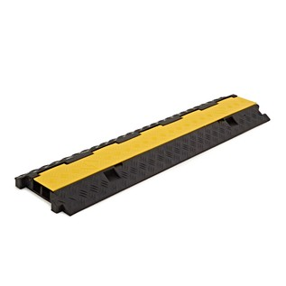 2 Channel Cable Protector Bridge by Gear4music, 3x3.5cm