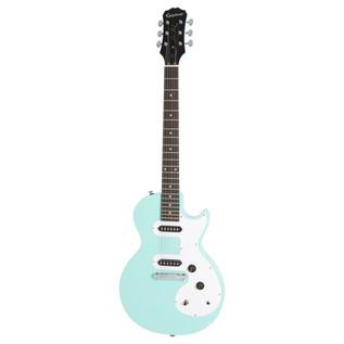 Epiphone Les Paul SL Electric Guitar, Turqoise Front View
