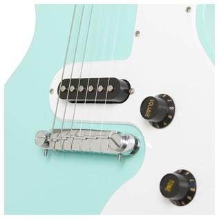 Epiphone Les Paul SL Electric Guitar, Turqoise Bridge