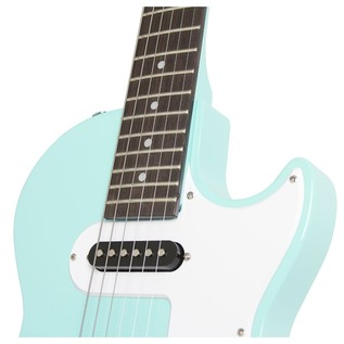 Epiphone Les Paul SL Electric Guitar, Turqoise Neck Joint