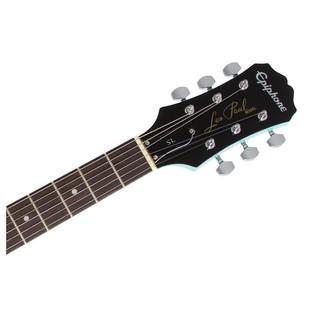Epiphone Les Paul SL Electric Guitar, Turqoise Neck