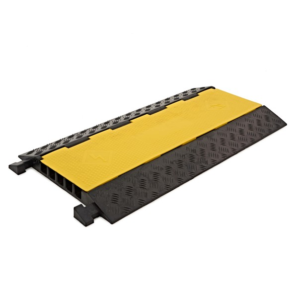 5 Channel Cable Protector Bridge by Gear4music, 4.5x3.5cm