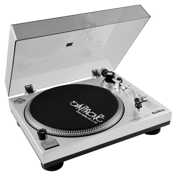 Omnitronic BD-1350 Turntable, Silver