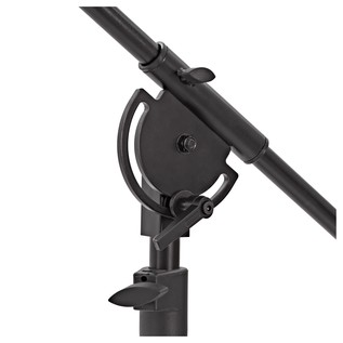 Deluxe Studio Telescopic Boom Microphone Stand by Gear4music