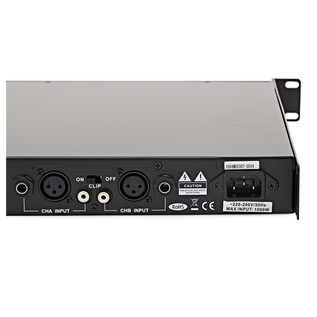 SubZero SZ-PA750 750W 1U Power Amp by Gear4music