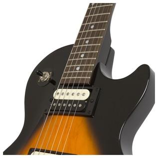 Epiphone Les Paul Studio LT Electric Guitar, Vintage Sunburst Neck Joint