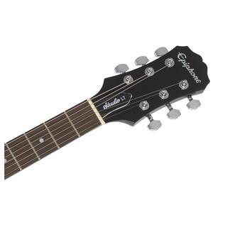 Epiphone Les Paul Studio LT Electric Guitar, Vintage Sunburst Neck
