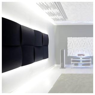 Vicoustic Cinema Round Premium Acoustic Panel 04A, Black Box, 8