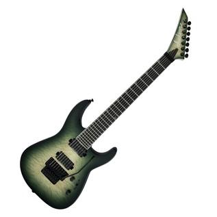 Jackson SL7Q Pro Series Soloist Electric Guitar, Alien Burst