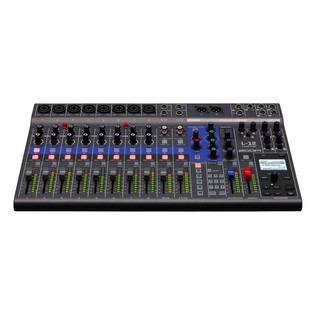 Zoom LiveTrack L-12 Live Mixing Console - Front