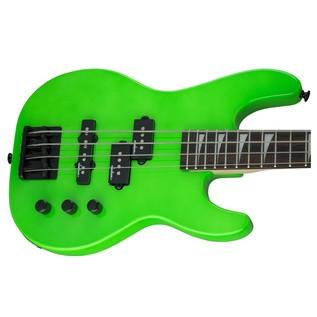 Jackson JS1X Concert Bass Minion, Neon Green