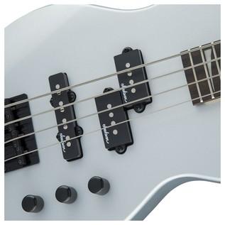 Jackson JS1X Concert Bass, Silver