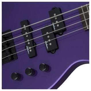 Jackson JS1X Concert Bass, Purple