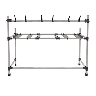 Deluxe Mobile DJ Stand by Gear4music