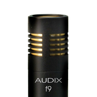 Audix F9 Overhead Cymbal Condenser Microphone Detail