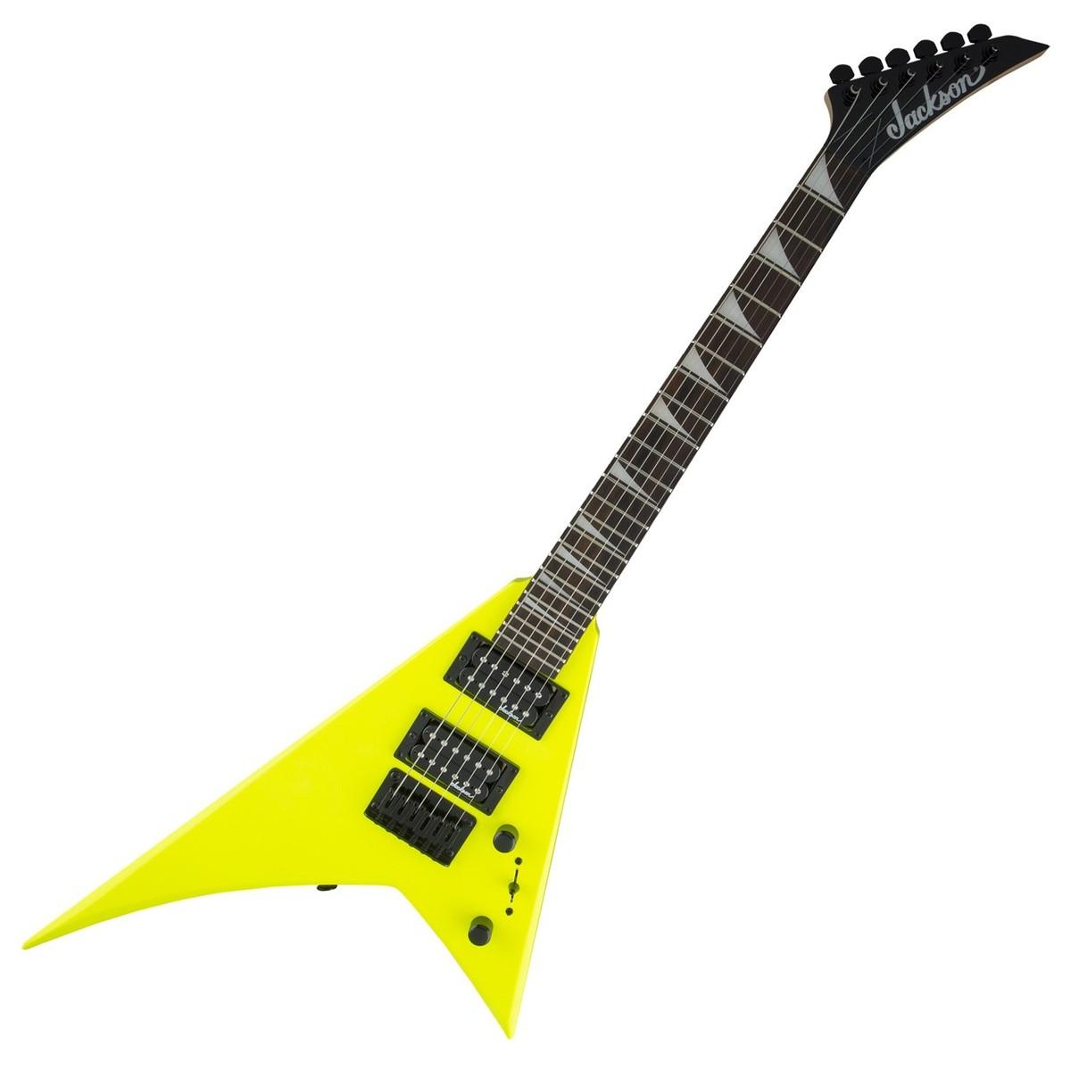 jackson js1x rhoads minion electric guitar neon yellow at gear4music. Black Bedroom Furniture Sets. Home Design Ideas