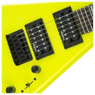 Jackson Rhoads Minion Electric Guitar, Neon Yellow