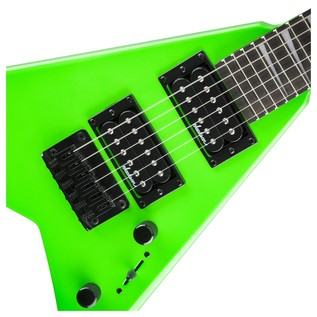 Jackson Rhoads Minion Electric Guitar, Neon Green
