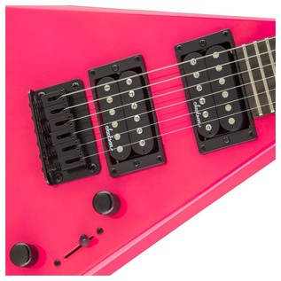 Jackson Rhoads Minion Electric Guitar, Neon Pink