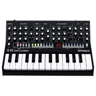 Roland SE-02 Analogue Synthesizer With Roland K-25m Keyboard - Bundle