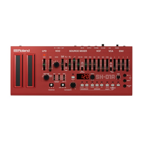 Roland SH-01A Sound Module, Red front