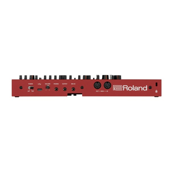 Roland SH-01A Sound Module, Red rear