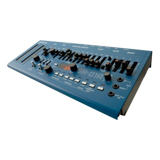 Roland SH-01A Sound Module, Blue right view