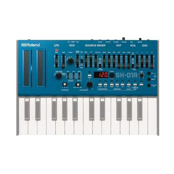 Roland SH-01A Sound Module, Blue - With Keys (Keys Not Included)