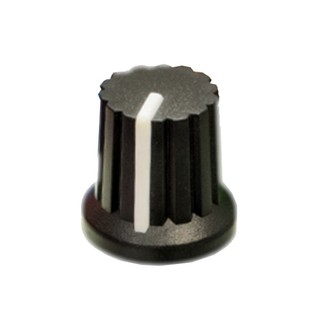 Doepfer A-100 Coloured Rotary Knob, Black - Knob