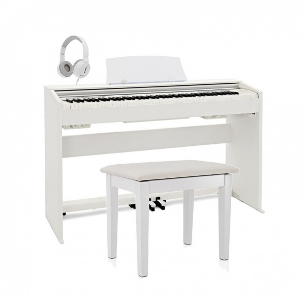 Casio PX 770 Digital Piano Pack, White