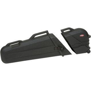 SKB ATA Roto Electric Bass Case w/TSA lock - Open