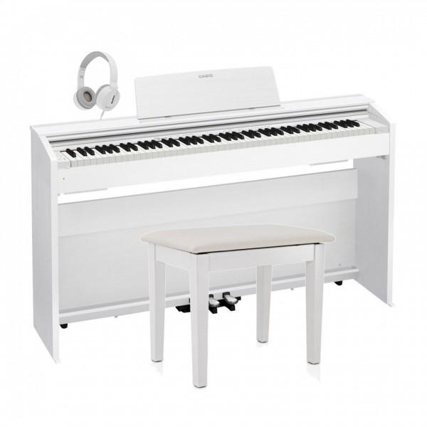 Casio PX 870 Digital Piano Pack, White