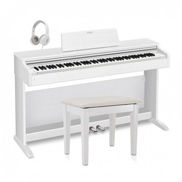 Casio AP 270 Digital Piano Pack, White