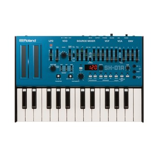 Roland SH-01A Module with K-25m Keyboard, Blue