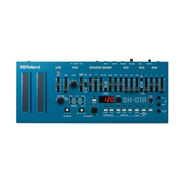 Roland SH-01A Sound Module, Blue - Top
